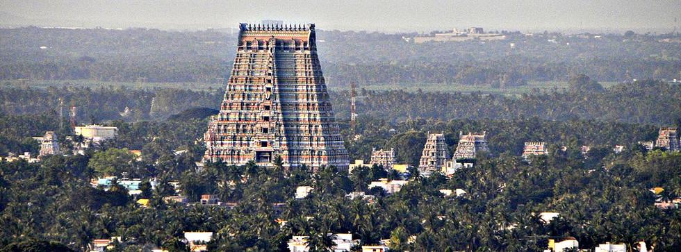 The largest functioning temple in India - Srirangam