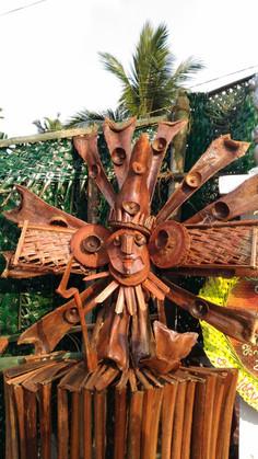 The Coconut Palm Art