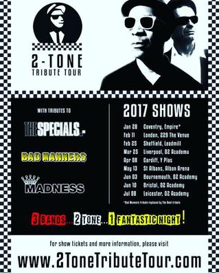 2-Tone Tribute Tour Dates 2017