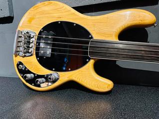 1976 Musician Stingray Fretless Bass