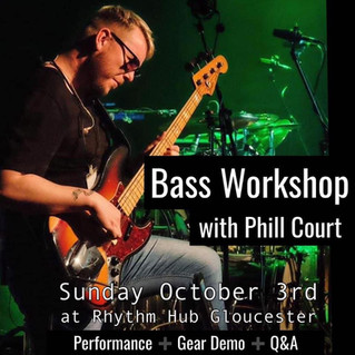 Gloucester | Bass Masterclass | 03/10/21