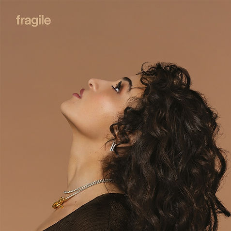 CAMELIA JORDANA - visuel album - fragile