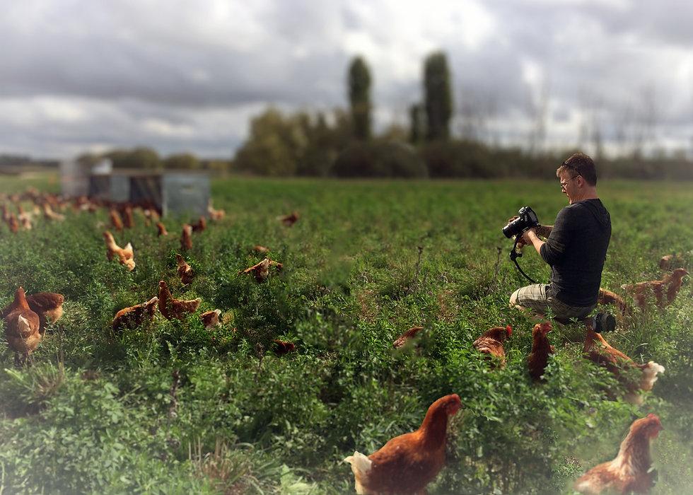 Rob Tate flms at Muloon Farm