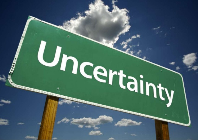 The Certainty of Uncertainty...