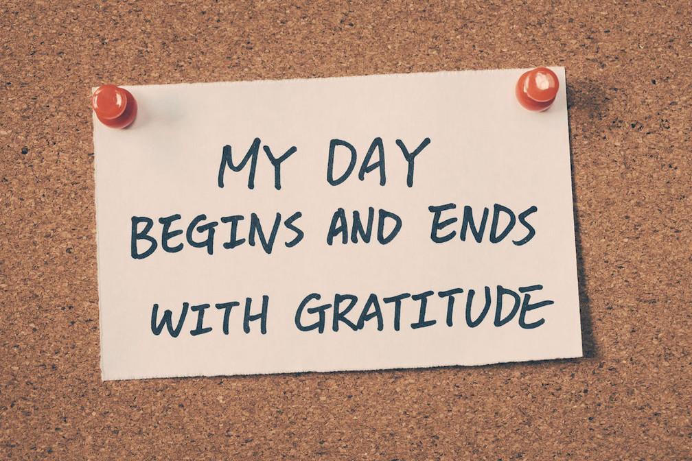 An Attitude of Gratitude...