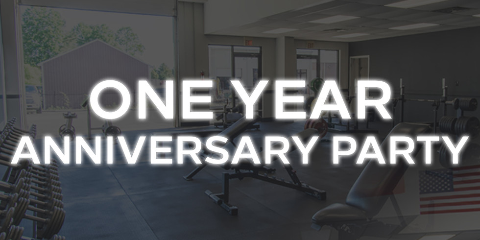 One Year Anniversary Party