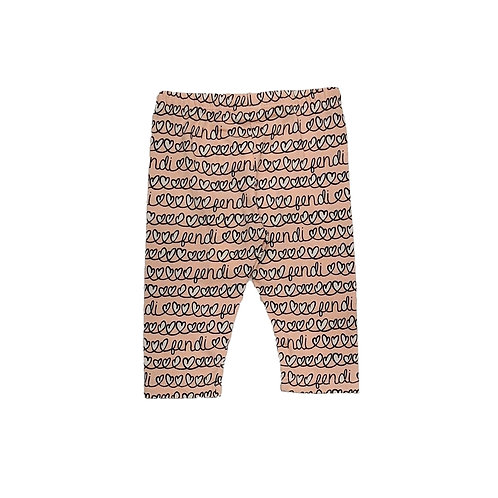 BFF101/F0UJ2 FENDI BABY GIRLS LEGGING
