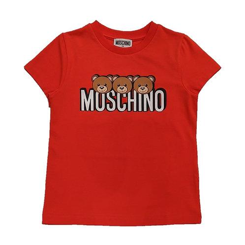 LBA24/50109 MOSCHINO KIDS UNISEX T-SHIRT