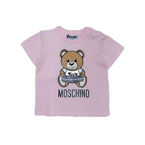 LBA12/50209 MOSCHINO BABY GIRLS T-SHIRT