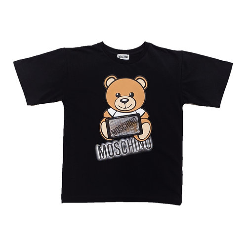 LBA12/60100 MOSCHINO KIDS UNISEX T-SHIRT