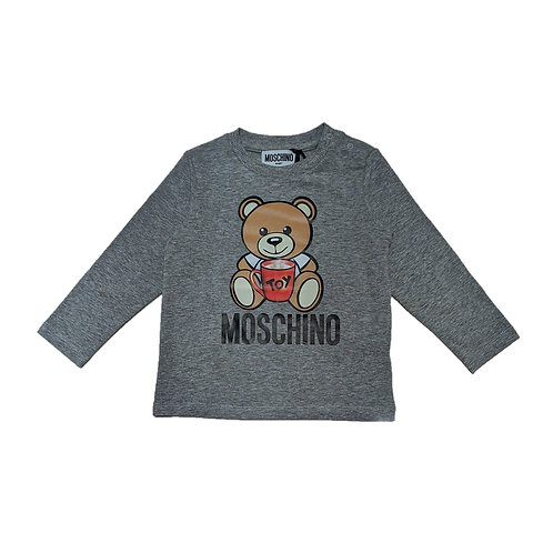 LBA11B/60901 MOSCHINO BABY UNISEX LONG SLEEVE T-SHIRT