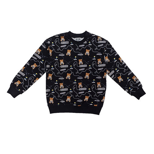 LDB43/84449 MOSCHINO KIDS BOYS SWEATSHIRT
