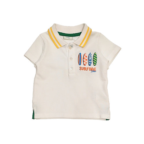 BMI116/F0QA0 FENDI BABY BOYS POLO SHIRT