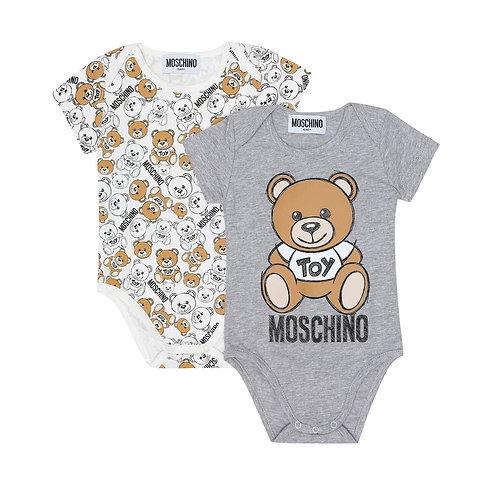 LAB19/60901 MOSCHINO BABY UNISEX ROMPER SETS