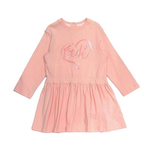 BFB163/F0C11 FENDI BABY GIRLS DRESSES