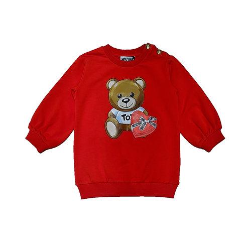 LDA16/50109 MOSCHINO BABY GIRL DRESSES
