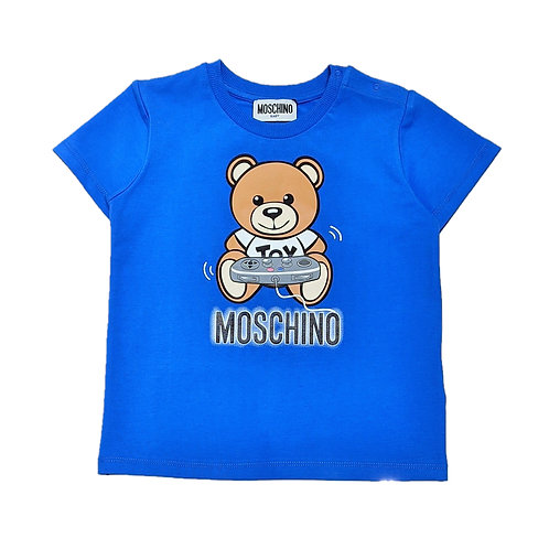 LBA12/40515 MOSCHINO BABY BOYS T-SHIRT