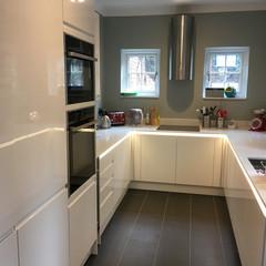 New gloss kitchen