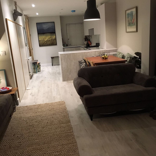 Ground floor refurbishment