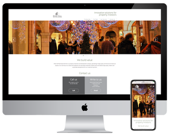 Bride Hall Real Estate Partners Website