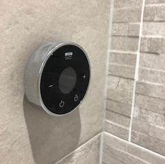 Wireless shower control
