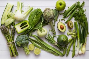 Zelené potraviny a ich vplyv na náš organizmus