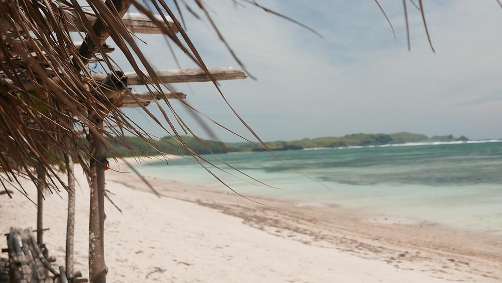 Kuta Lombok pláž