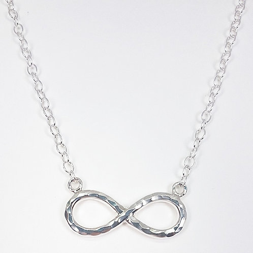 Sterling silver necklace Infinity