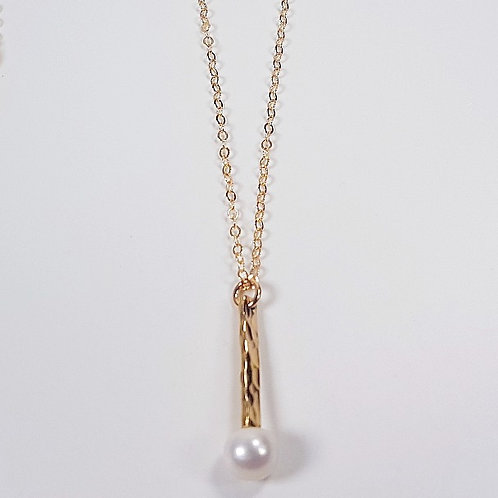 Gold pendant with original pearl