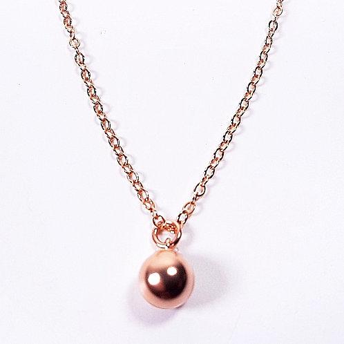 Rose gold pendant Ball Hook