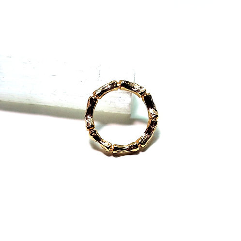 Delicate Gold Bamboo Ring