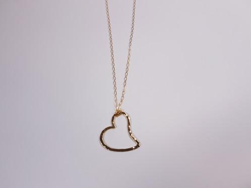Gold fill open heart pendant modern rings earrings pendants gold fill open heart pendant aloadofball Gallery