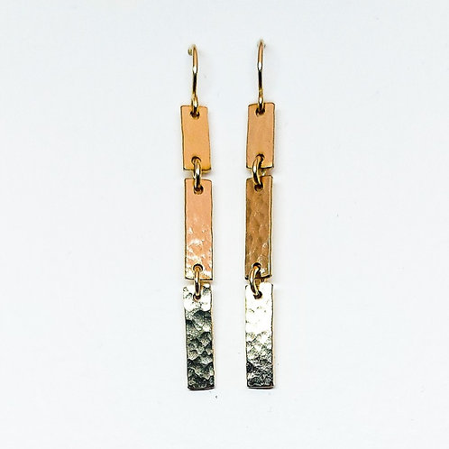 Gold Icicle earrings