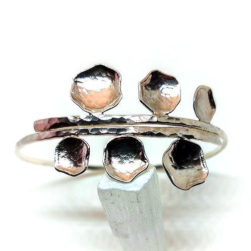 Sterling silver bracelet Sakura