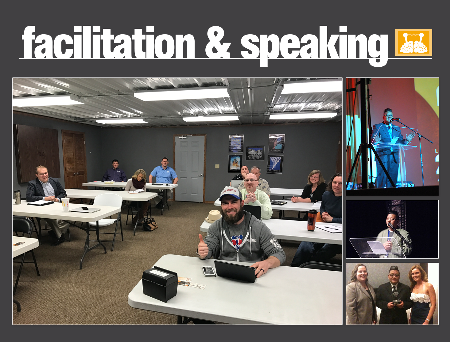Facilitation and Speaking