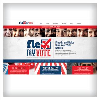 Flex My Vote Website