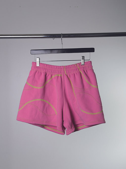 Cross Hatched Shorts
