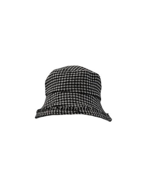 Houndstooth Bucket Hat