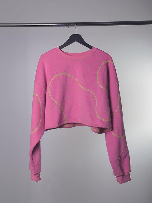 Cross Hatched Sweatshirt
