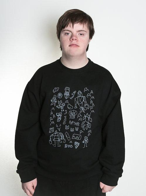 Trafford's Illustrations Sweatshirt