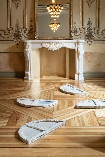 Syzygy installation view in Palacio Marques de Riscal, Madrid, 2019