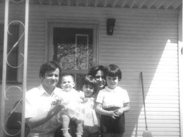 The Angiulli family, 40 years ago!