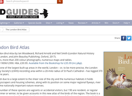 My reviews now available online at BirdGuides.com