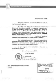 Certificación Ejerciente