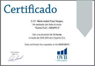 Certificado FLO-Grupo C