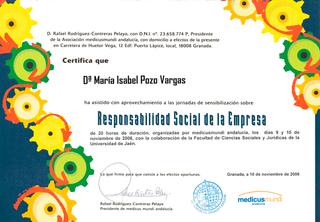 Curso de Responsabilidad Social en la Empresa