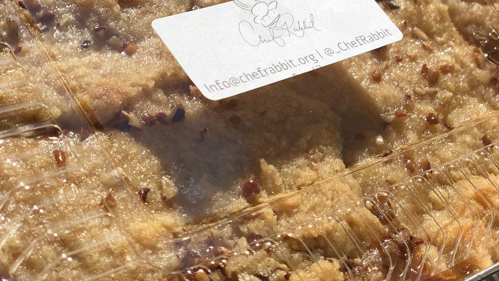 (Full Pan) Bourbon Peach Cobbler