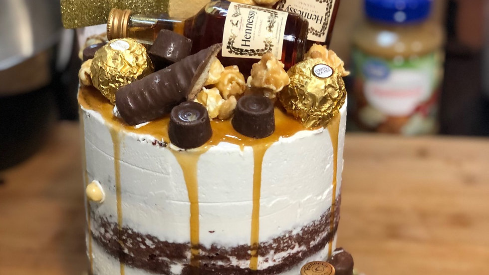 6in 3 Layer Henney Cake
