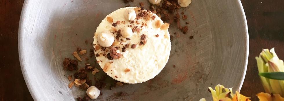 Cheesecake con higos.