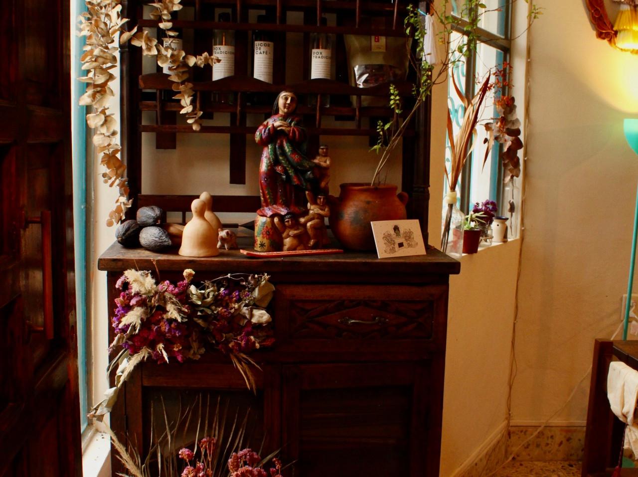 El mueble de Doña Irene.